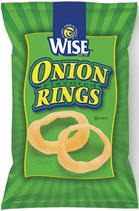 Wise Onion Flavored Rings Chips
