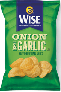 Wise Onion & Garlic Potato Flavored Chips