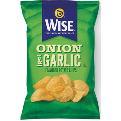 Wise Onion & Garlic Potato Flavored Chips