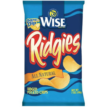 Wise Ridgies All Natural Ridged Potato Chips