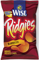 Wise Ridgies Barbecue Potato Chips