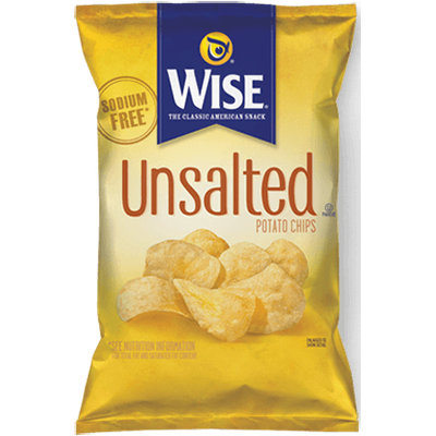 Wise Unsalted Potato Chips