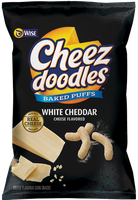 Wise white Cheddar Cheez Doodles Puffed