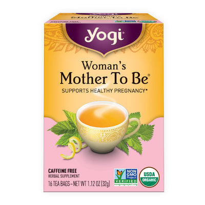 Yogi Tea Woman's Mother To Be