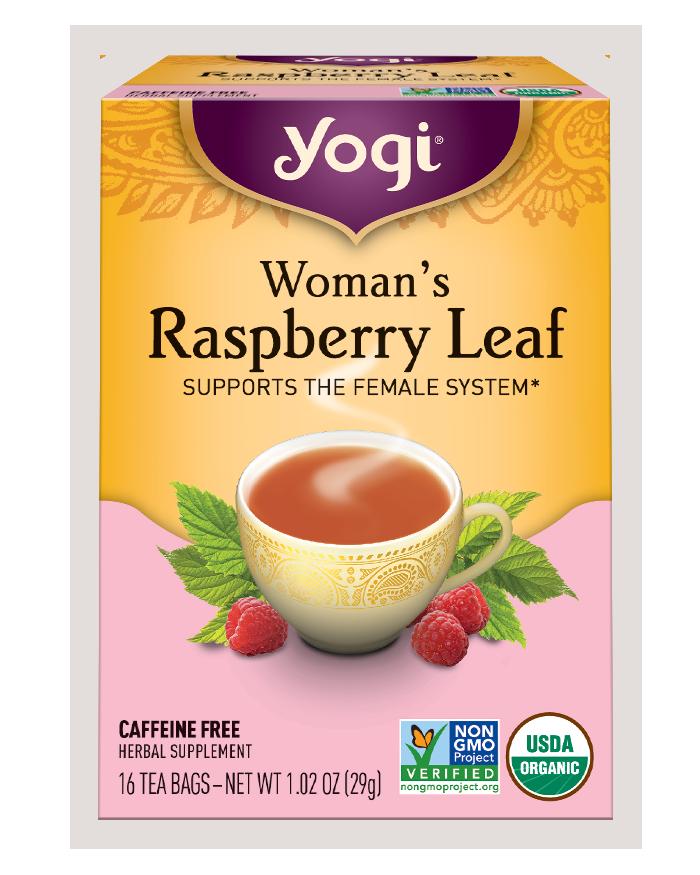 Yogi Tea Yogi Woman's Raspberry Leaf Tea Bags