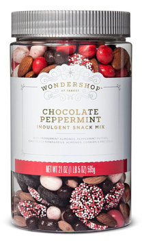 Wondershop™ Chocolate Peppermint Indulgent Snack Mix