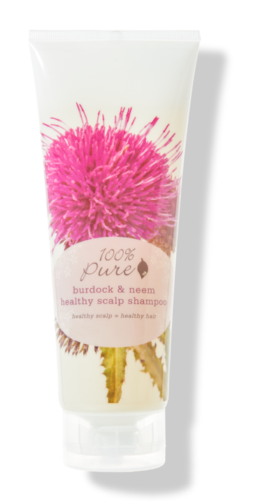 100% Pure Burdock & Neem Healthy Scalp Shampoo