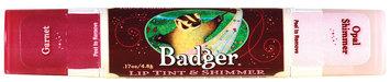 Badger Balm Lip Tint and Shimmer