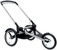 Bugaboo Runner Stroller Base - Aluminum/Black - 1 ct.