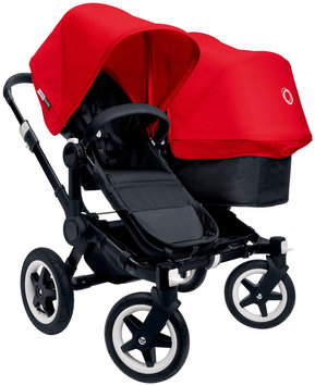 Bugaboo Donkey Duo 2015 Extension Set in Black/Black