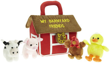 Aurora Plush Baby My Barnyard Friends Carrier w/ Sound 6