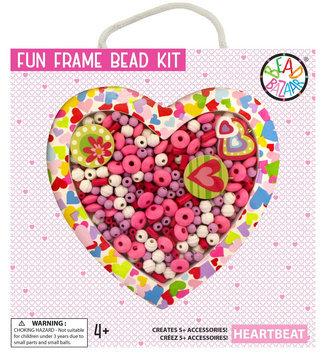 Bead Bazaar Heartbeat Fun Frame Bead Kit