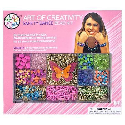 Bead Bazaar Safety Dance Bead Kit - 1 ct.
