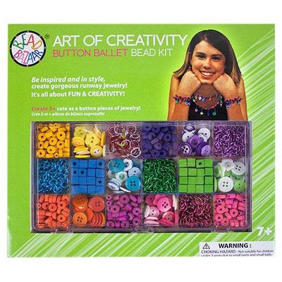 Bead Bazaar Button Ballet Bead Kit - 1 ct.