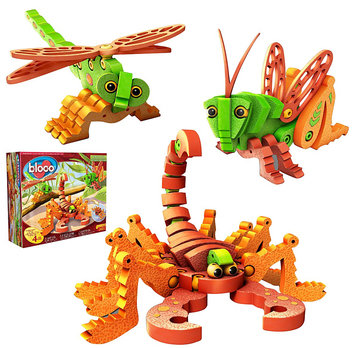 Bloco Toys Scorpions and Insects (162 pcs)