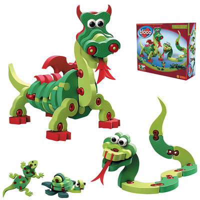 Bloco Toys Dragons and Reptiles Building Set
