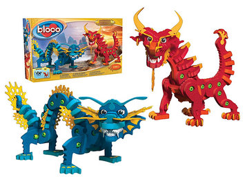 Bloco Toys Aqua and Pyro Dragons - 1 ct.