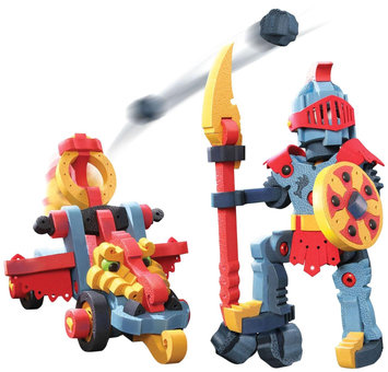 Bloco Toys Dragon Knight & Catapult