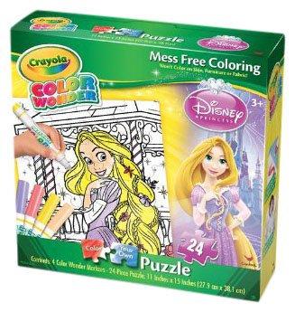 Cardinal Industries Cardinal Games Color Wonder Puzzle - Princess (24pc)