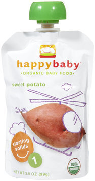 Happy Family happy baby stage 1 Starting Solids - Sweet Potato - 3.