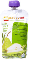 Happy Family happy tot Purees - Green Bean, Pear & Pea - 4.22 oz