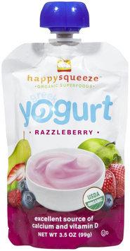 Happy Squeeze Yogurt Greek Razzleberry 3.5 Oz Case of 12