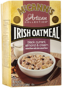McCann's Artisan Collection Irish Oatmeal Black Currant Almond & Cream - 8 Packets