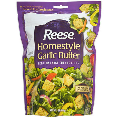 Reese Homestyle Croutons - Garlic Butter - 5 oz