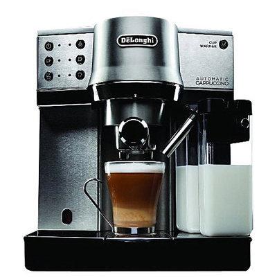 DeLonghi Die-Cast Pump Espresso Cappuccino Maker EC860