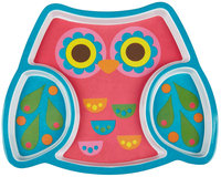 Stephen Joseph Melamine Tray - Owl - 1 ct.