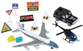 Daron Worldwide Trading RT5731 Air Force One Playset 9 Pc