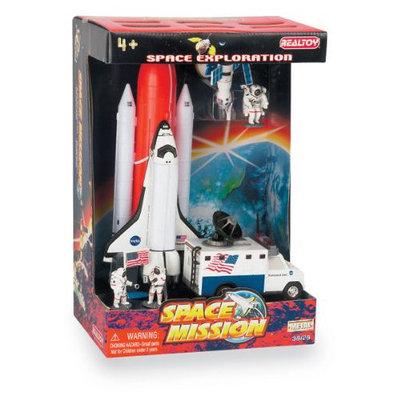 Daron Worldwide Trading RT38128 Space Shuttle 7 Piece Playset