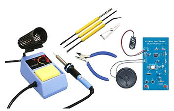 Elenco Deluxe Learn To Solder Kit With tools