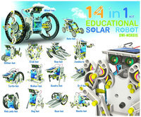 OWI Robotikits - 14-in-1 Educational Solar Robot Kit