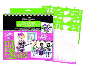 Fashion Angels Rockband Sketch Portfolio - 1 ct.
