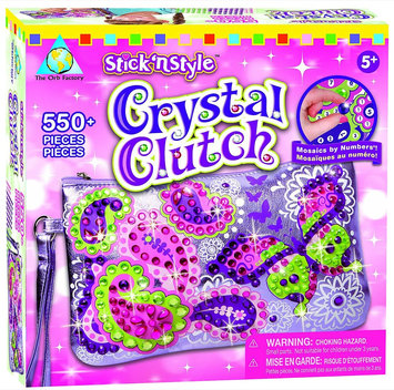 Orb Factory Stick 'n Style Kit Crystal Clutch
