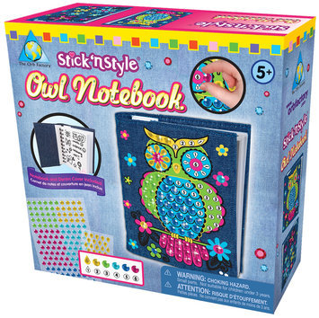 The Orb Factory Stick N Style Owl Notebook