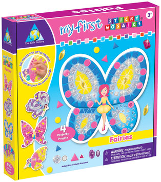 Orb Factory My First Sticky Mosaics Kit Fairies