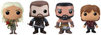 Sierra Accessories Game of Thrones: Pop! Vinyl Set 1 Tyrion Lannister, Ned Stark, Daenerys Targaryen, Khal Drogo