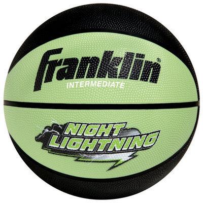 Franklin Sports B6 Glow in the Dark Night Lightning Basketball