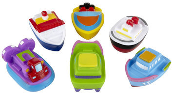 Elegant Baby Infant Boys' Boat Party Bath Squirties