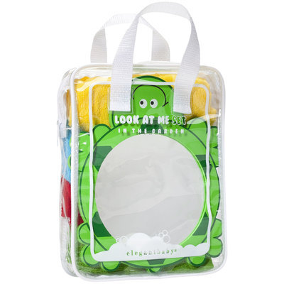 Elegant Baby In The Garden Look At Me Bathtime Party Gift Set