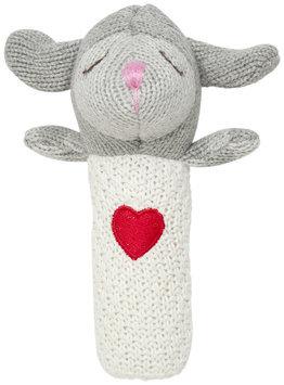 Elegant Baby Lambie Squeaky Rattle - 1 ct.