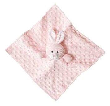 Elegant Baby Bunny Blankie Buddy - Pink