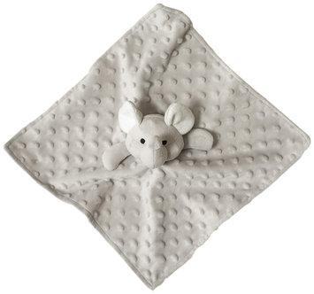 Elegant Baby Elephant Blankie Buddy - Gray