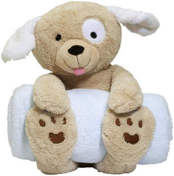 Elegant Baby Bedtime Huggie, Puppy plush holding 34