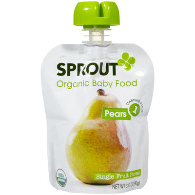 Sprout Foods Sprout Stage 1 Pears - 1 ct.
