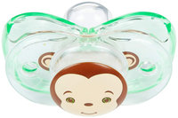 RaZbaby Keep-it-Kleen Pacifier - Monkey - 1 ct.