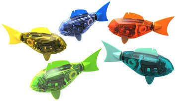Innovation First Inc Hexbug Aquabot Robotic Shark - Grey