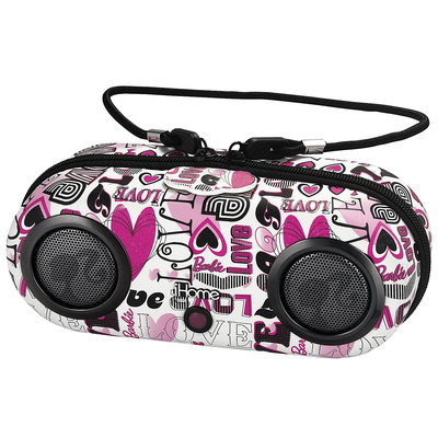 KIDdesigns, Inc Barbie iHome MP3 Portable Water-Resistant Stereo Sport Case - 1 ct.